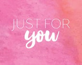 Just for You - Alicia Sundstrom