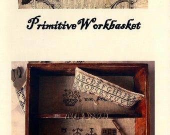 Nikyscreations: Primitive Workbasket - Cross Stitch Pattern