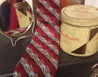 Vintage Mens Silk Tie Pierre Cardin #003
