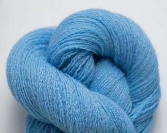 Maya Blue Recycled Cashmere Lace Weight Yarn, CSH00285