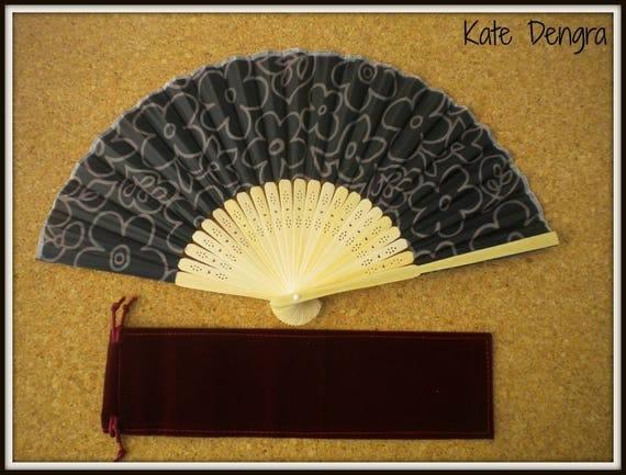Lightweight Bamboo Hand Fan Budget Price Folding Fan from Spain