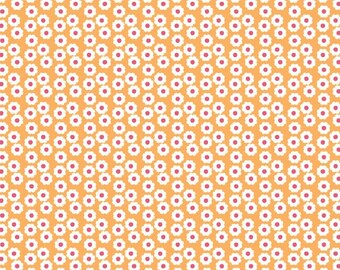 Summer Song Fabric by Zoe Pearn for Riley Blake Designs, C7055 Orange Flowers