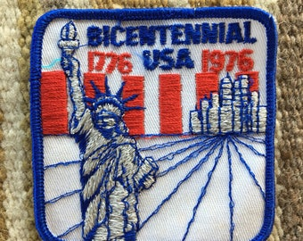 1776-1976 USA Bicentennial patch NYC