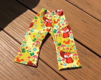 "Little Red Fox, leggings/pants for 16-18"" Waldorf doll clothes"