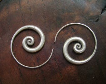 Thailand Silver Earrings - The Simplest One(6)
