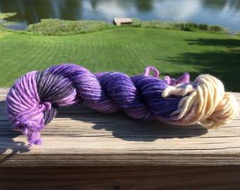 Violet Crawley, Inspired by Downton Abbey tv show, Knit and Fiber Creation Chubbies Super Bulky Yarn