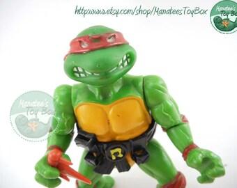TMNT Action Figure: Original Raphael 1988 Soft Head