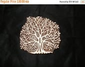 TYFYP Tree of life Indian block printing stamps/wooden block for printing/ paper and fabric printing stamp