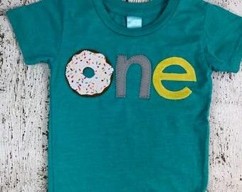 Donut shirt, Donut party, donut birthday shirt, sprinkles, children's birthday shirt, birthday outfit, donut worry be happy, boys shirt
