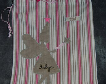 blanket, personalized fairy for Aelyn theme bag!