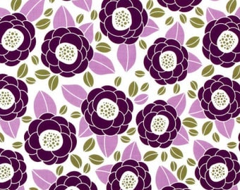 54014-  1/2 yard - Joel Dewberry Aviary 2 Bloom in Lilac  color -