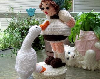 Hummel Crochet Goose Girl Finished