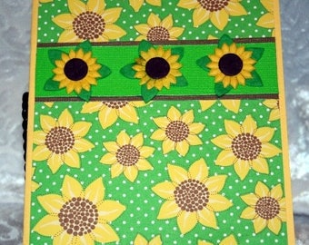 Sunflower Card for Any Occasion  20170153
