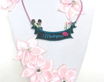 MUA Banner Necklace