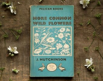 Wild Flower Penguin paperback More Common Wild Flowers by John Hutchinson