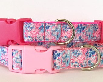 Gypsea Inspired Lilly Pulitzer Pet Collar