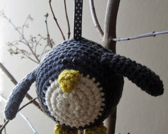 Crochet Pattern for P-P-P-Percy Penguin Bauble!