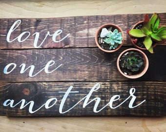Wood Wall Art Quotes rustic wall decor reclaimed wood wall art love quote wall