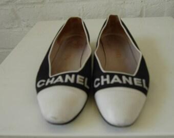 Chanel flats | Etsy