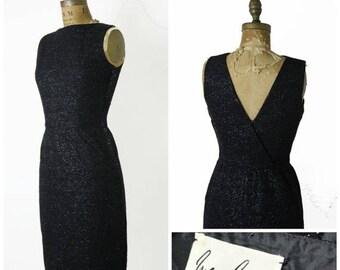 ON SALE 1950s Minx Modes Pencil Dress