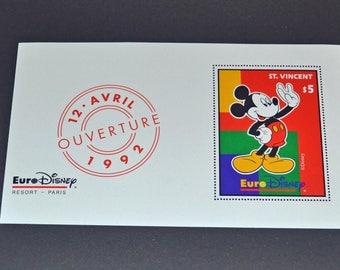 St Vincent 5 dollar stamp mint 1992