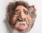 New Year vampire paper mask