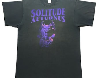 SOLITUDE AETURNUS vintage 1995 tour shirt - XL