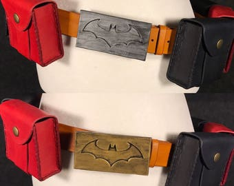 Harley Quinn Bombshell Inspired Belt and Pouches