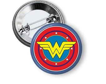 Wonder Woman Pin Wonder Woman Button Wonder Woman Stuff