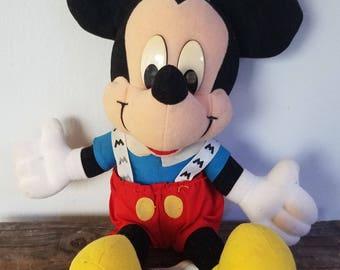 Vintage Mattel Mickey Plush - 80s/ 90s