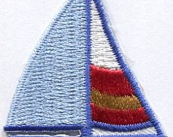 sailboat iron on patch