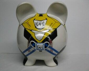 Quad Piggy Bank, Personalized piggy bank, ATV, Boys - MADE to ORDER