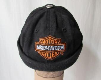 Harley Davidson Cap black with logo adjustable unisex