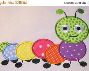 ON SALE Cute Crawling Bug 05 Machine Applique Embroidery Design - 4x4, 5x7 & 6x8