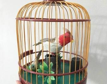 Bird in Cage / Singing Bird / Automaton Bird / Bird and Birdcage / Singing Feather Bird / Music Box