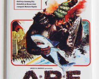 Ape Movie Poster Fridge Magnet