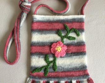 Crochet  pouch bag