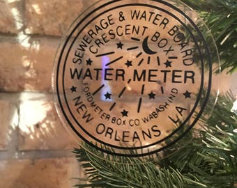 New Orleans Water Meter Ornament