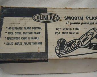 Old dunlap  smooth plane