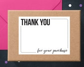 Thank You Stickers | Thank You Cards | Packaging Stickers | Business Thank You Stickers | Write-On Thank You Labels | Poshmark Stickers