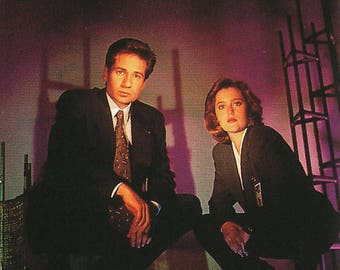 1996 Topps The X-Files Season 2 Parallel/Foil Stamp Trading Card Set