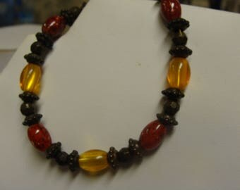 Red and Gold  Bracelet