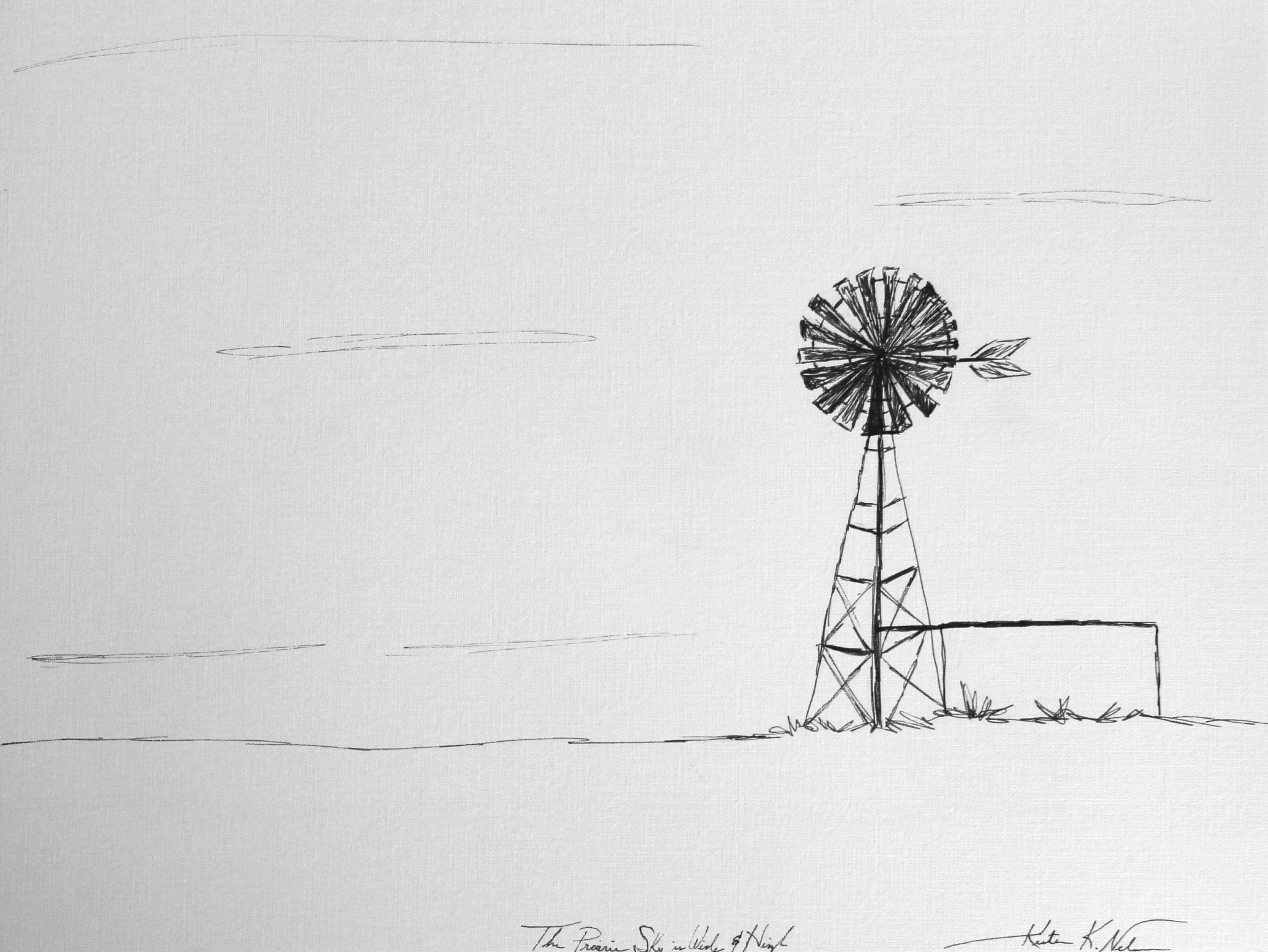 Line Drawing Windmill : How to draw a windmill in mins youtube