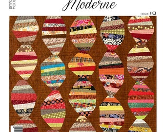 Simply Moderne #10 - Quilt Magazine