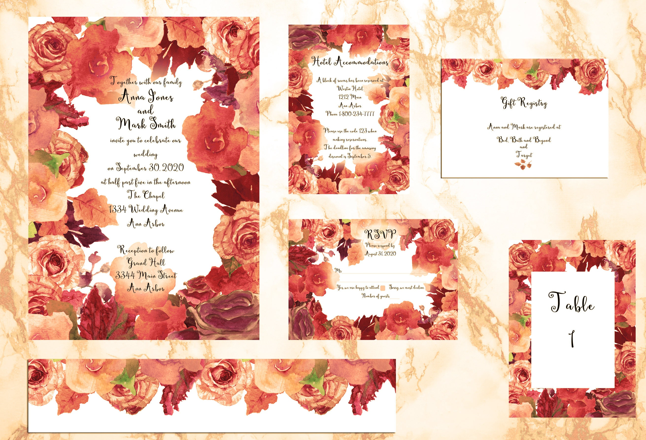 Nice Target Wedding Invitation Ideas - Invitations and Announcements ...