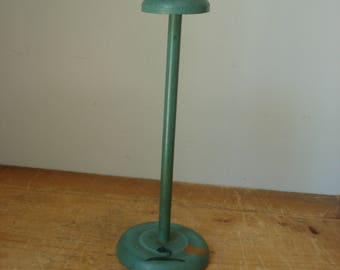 Vintage Hat Stand/Hand Painted Hat Stand/Vintage Hat Display