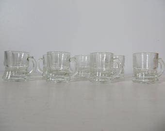 Miniature Beer Mug Shot Glasses - Set of 8