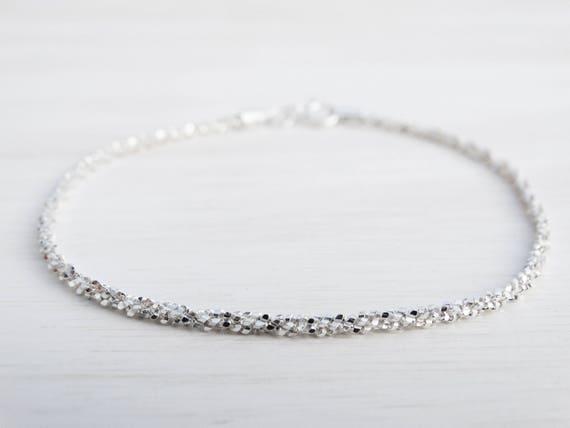 Silver Stardust Bracelet, Sterling Silver