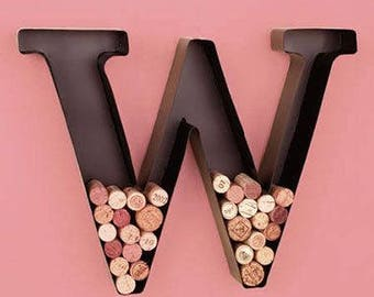 Large Metal Letters & Numbers...… Wine Corks Succulent Letter Wedding Home Decor Birthday  A B C D E F G H I J K L M N O P Q R S T U V W X Y