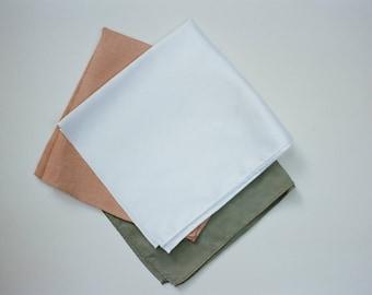 Naturally Dyed Handkerchief